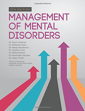 The new Management of Mental Disorders 5th Edition is available for purchase on Amazon.
